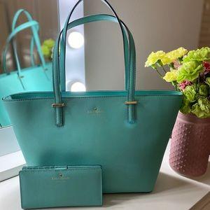 Kate Spade Tiffany Blue purse